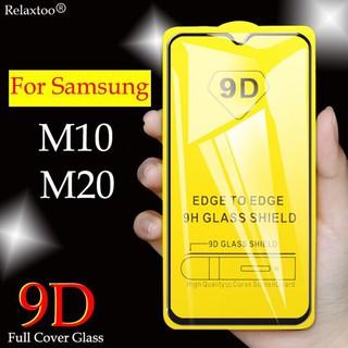 Kính cường lực Full Màn Samsung M20/ M10 cao cấp 9D siêu nét, tặng kèm giấy lau màn hình