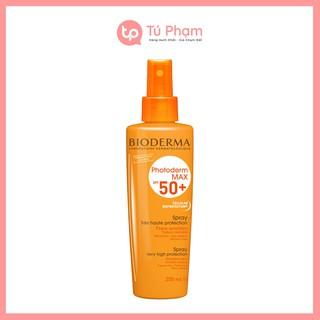 Kem Chống Nắng Dạng Xịt Bioderma Photoderm Max Spray SPF 50+ 200ml