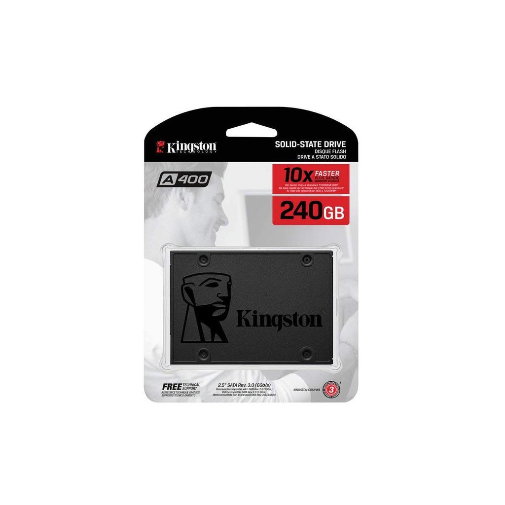 SSD KINGSTON 240GB A400 - PHÂN PHỐI CHÍNH