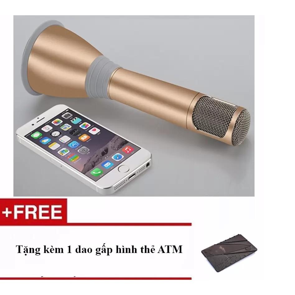 Micro kèm loa hát karaoke K068 + Tặng kèm 1 dao gấp - 2834899 , 123613576 , 322_123613576 , 236000 , Micro-kem-loa-hat-karaoke-K068-Tang-kem-1-dao-gap-322_123613576 , shopee.vn , Micro kèm loa hát karaoke K068 + Tặng kèm 1 dao gấp