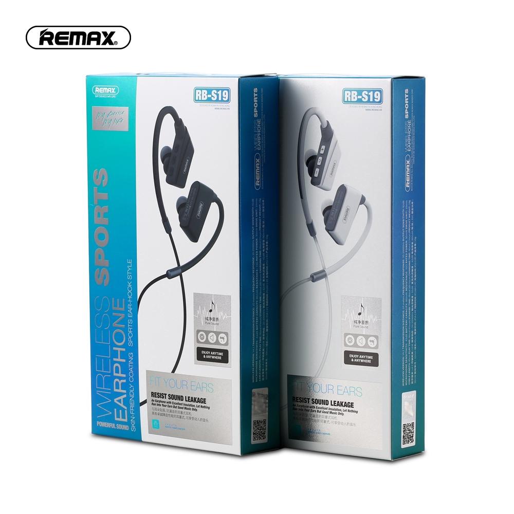 Tai nghe nhét tai Bluetooth 4.2 Remax âm thanh trung thực với thiết kế thể thao năng động