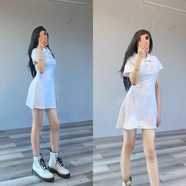 [AITHEE] Váy cổ Polo