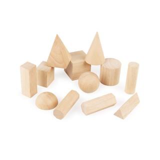 Bộ giáo cụ Montessori 12 hình khối cơ bản