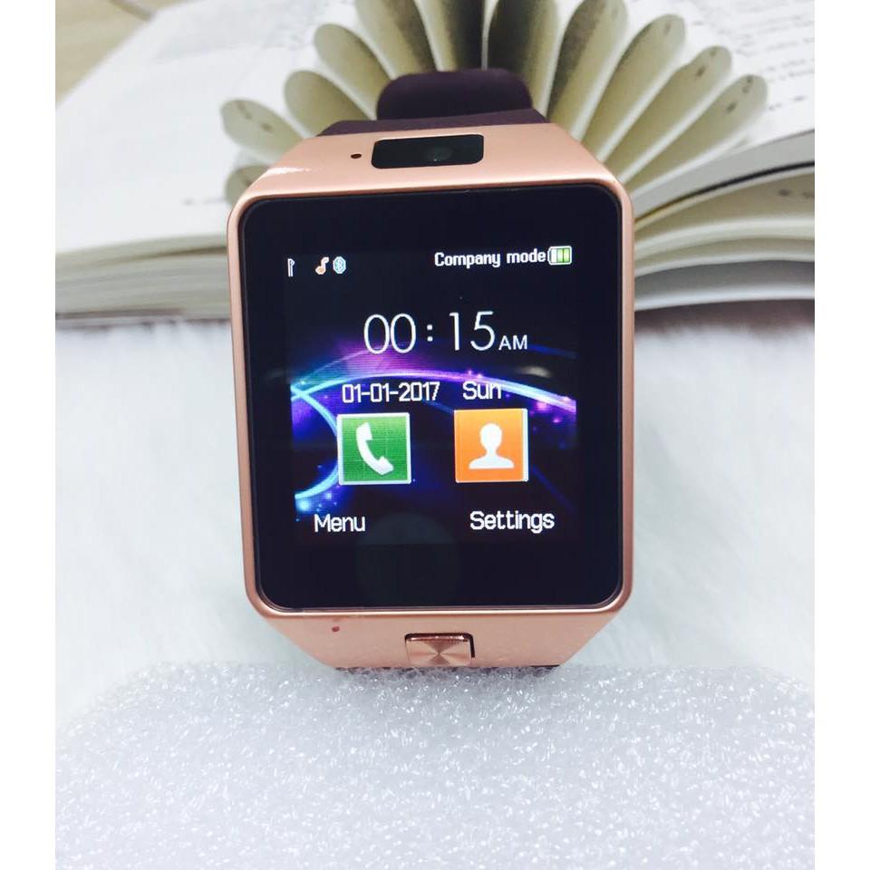 Đồng hồ thông minh Smart Watch DZ09 giá rẻ (Nâu viền vàng) - 3552868 , 1010871002 , 322_1010871002 , 179000 , Dong-ho-thong-minh-Smart-Watch-DZ09-gia-re-Nau-vien-vang-322_1010871002 , shopee.vn , Đồng hồ thông minh Smart Watch DZ09 giá rẻ (Nâu viền vàng)
