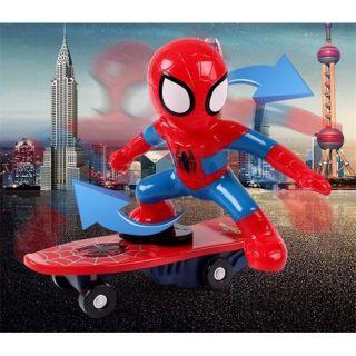 Người nhện trượt ván 360′
