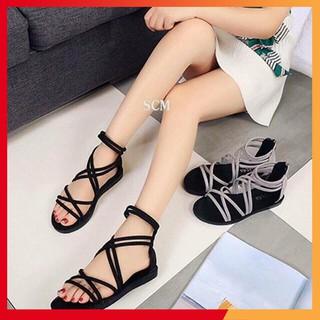 sandal nhiều dây - Boho Vintage Style