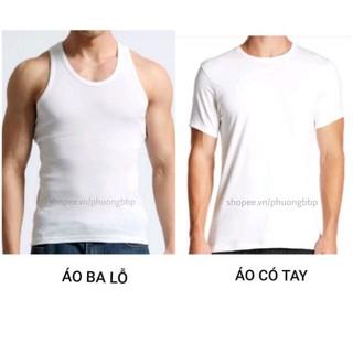 Áo ba lỗ nam, áo ba lỗ nam 100% cotton hàng Việt Nam chất lượng cao Ledatex