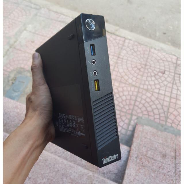 [ELCL100K giảm max 100K đơn 700K] Xác ( Barebone ) Case Lenovo mini siêu bé  chạy CPU SK 1150