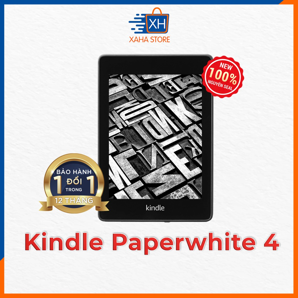 ⚡️ NEW 100% - SEAL ⚡️ Máy đọc sách Amazon Kindle Paperwhite 4 (thế hệ thứ 10 - 8/32GB) ⚡️ Kèm phụ kiện giá sốc ⚡️