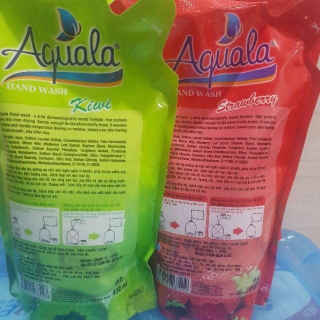 Sữa rửa tay Aquala bịch 450ml