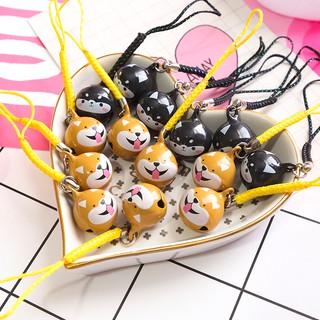 Móc khóa chuông Shiba/ Husky
