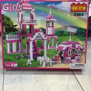Lego Girls-Mã 3263-510pcs