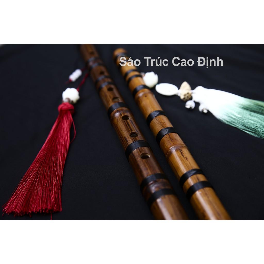 Sáo Dizi Việt Cao Cấp, Sáo Dizi Trúc Đá Hun [CNT3] - Thương hiệu Sáo Trúc Cao Định