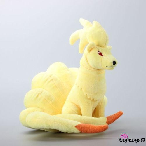NLV-Pokemon Go Plush Toys Nine Tails Fox Ninetales Stuffed Animals Soft Doll