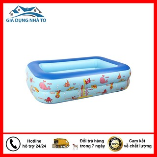 Bể Bơi Mini Dành Cho Bé Tại Nhà M3 Tiện Lợi Chống Trượt An Toàn