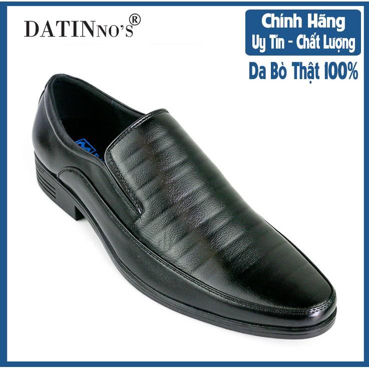 Giày Tây Nam Da Bò Cao Cấp DATINNOS ( Đen ) - AV5066