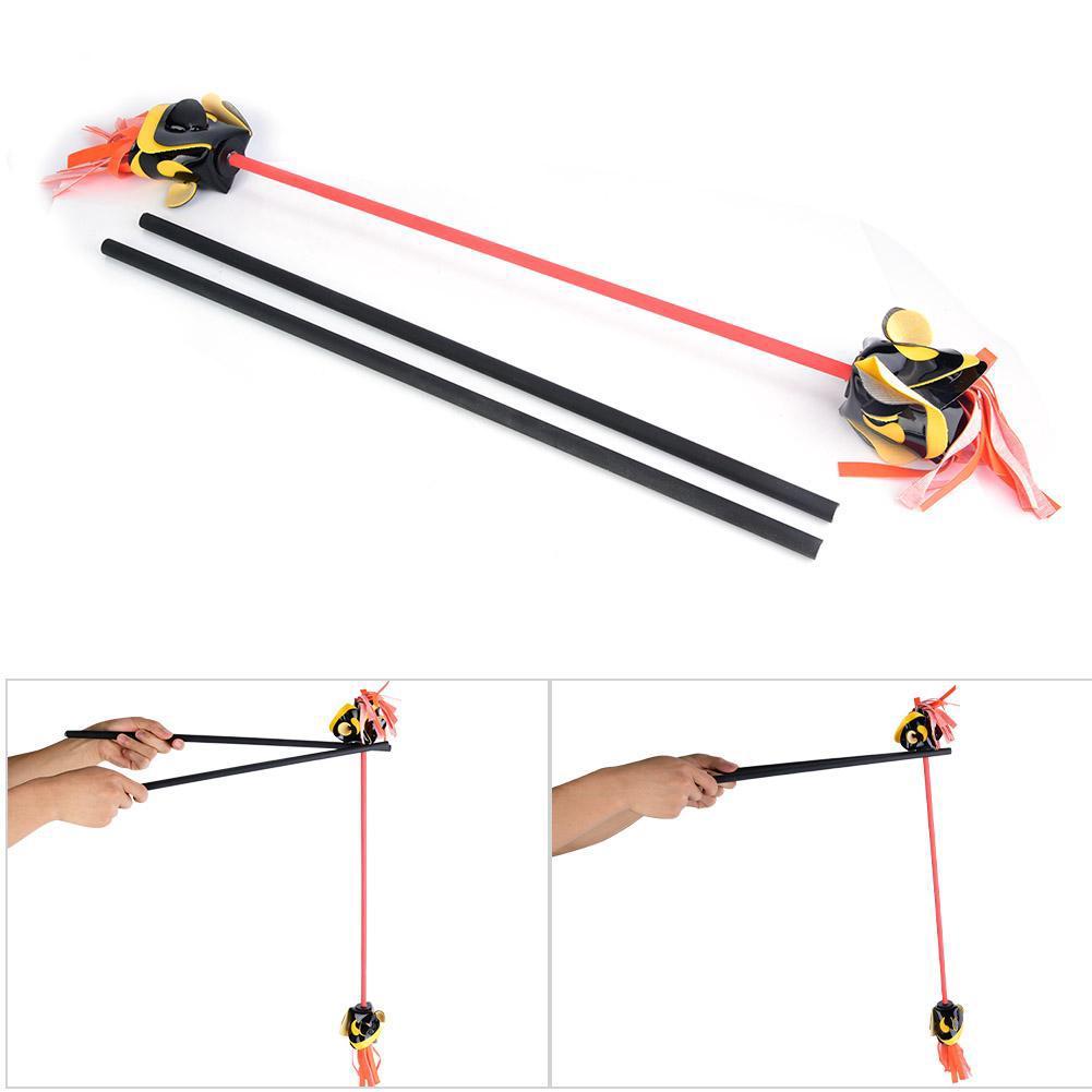 Cool Flower Toys Sticks Juggling Stick Elderly Exercise Kids for Fitness Show
