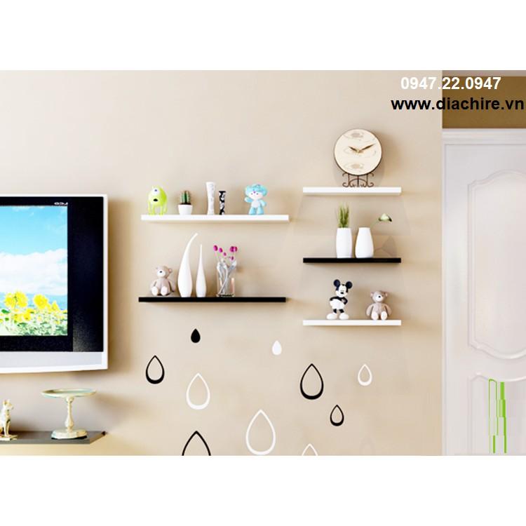 Kệ Tivi treo tường Gỗ Lõi Xanh Chống Ẩm cho tường hẹp 1m + Tặng 2 bộ trang trí gỗ 3D - 3514668 , 1295134323 , 322_1295134323 , 523000 , Ke-Tivi-treo-tuong-Go-Loi-Xanh-Chong-Am-cho-tuong-hep-1m-Tang-2-bo-trang-tri-go-3D-322_1295134323 , shopee.vn , Kệ Tivi treo tường Gỗ Lõi Xanh Chống Ẩm cho tường hẹp 1m + Tặng 2 bộ trang trí gỗ 3D