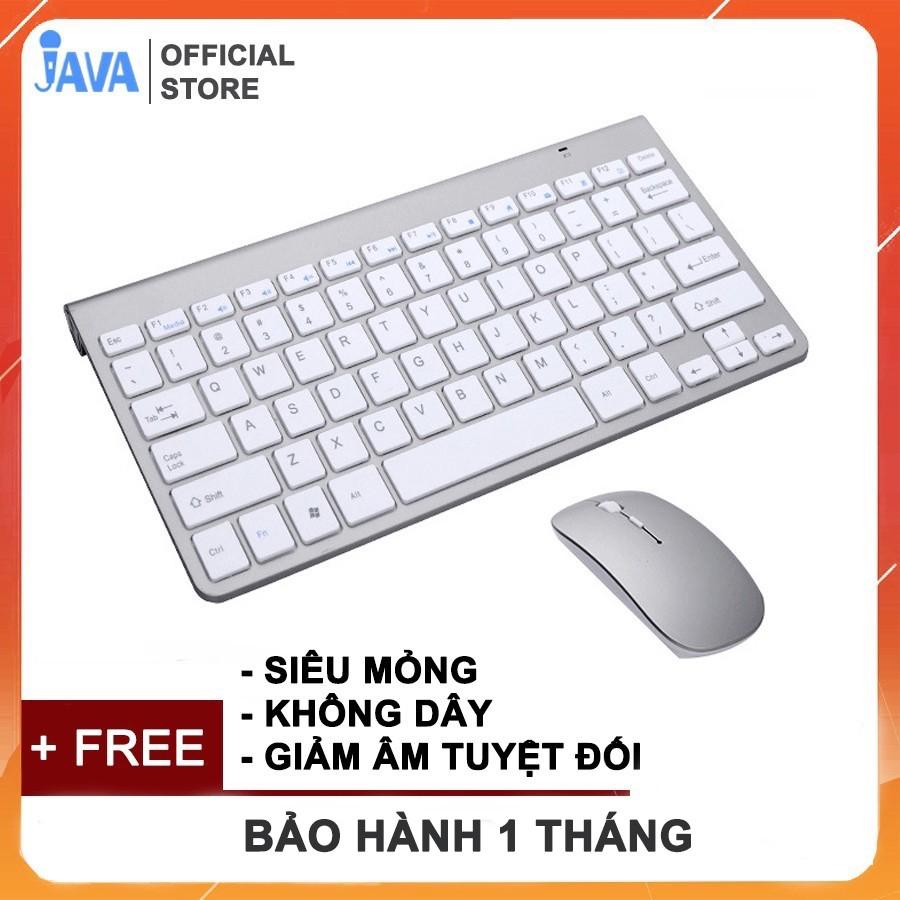 [CẮM CHIP USB] Bàn Phím và Chuột Không Dây Chống Thấm Nước 2.4G dùng cho laptop, máy tính pc - BẢO HÀNH 6 THÁNG