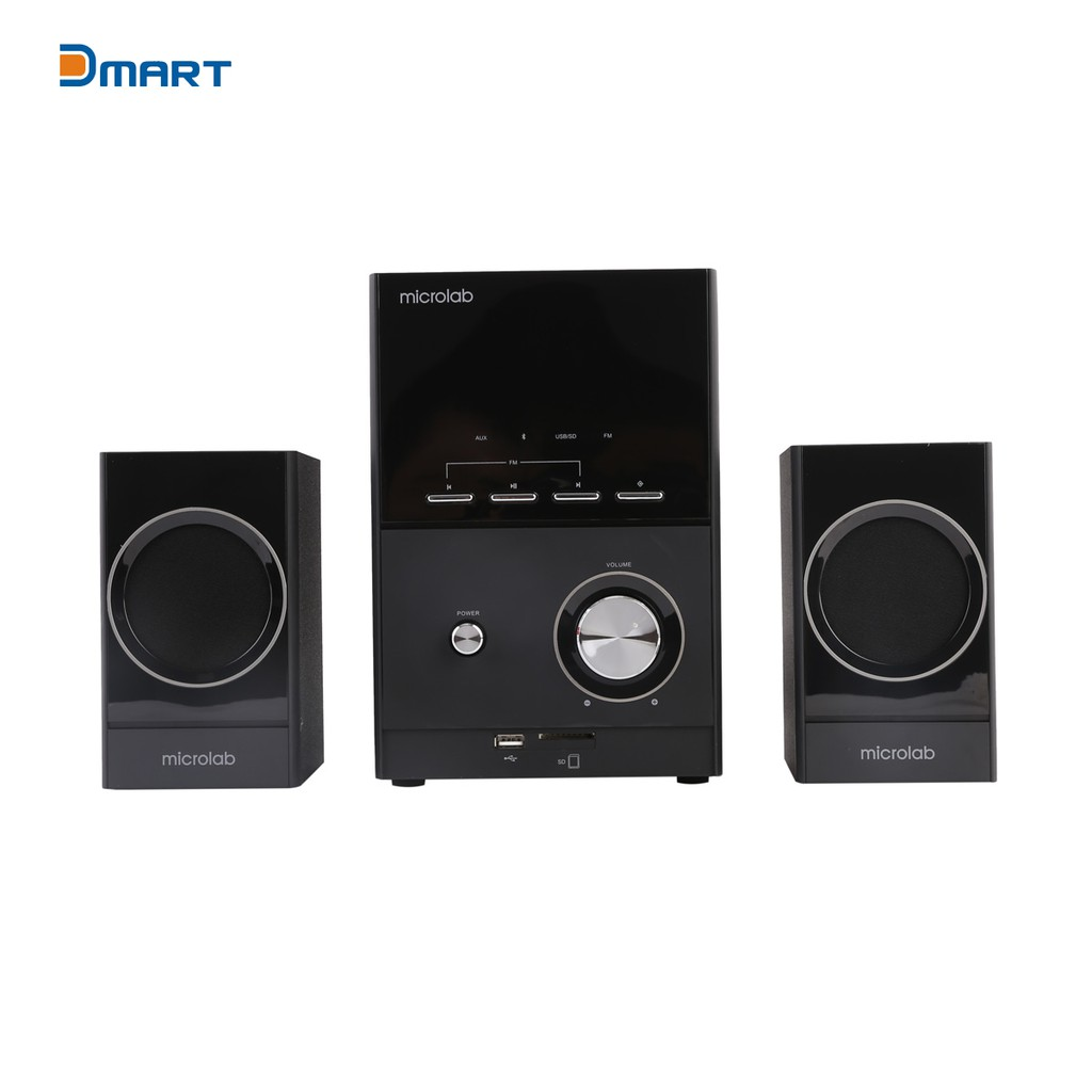 Loa Bluetooth Microlab 2.1 M223BT