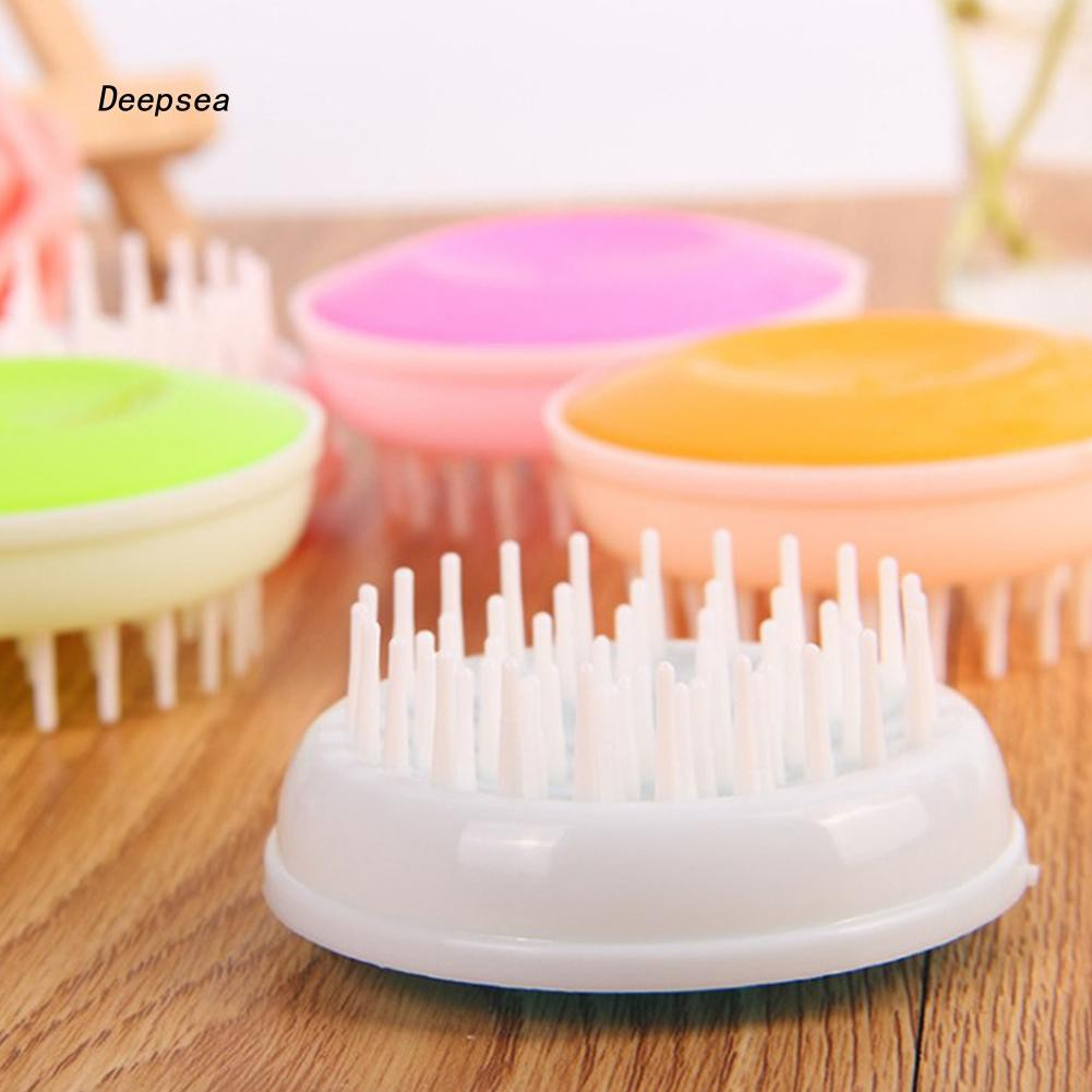 CW-Cat Dog Pet Grooming Shedding Massage Brush Bath Wash Cleaning Hair Removal Comb