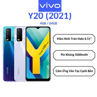 Điện thoại Vivo Y20 (2021) 4GB + 64GB – Hàng chính hãng