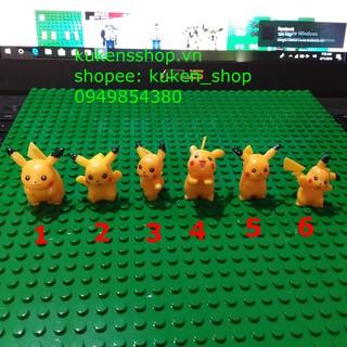 Minifigures Nhân Vật Hoạt Hình Pikachu Siêu Hot NO.287