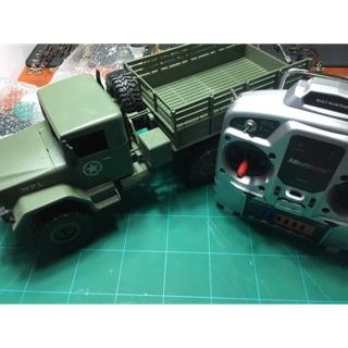 Mô hình xe quân sự RC điều khiển từ xa đã nâng cấp