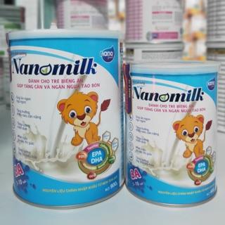 Sữa Nanomilk BA giúp cho trẻ biếng ăn tăng cân, ngăn ngừa táo bón