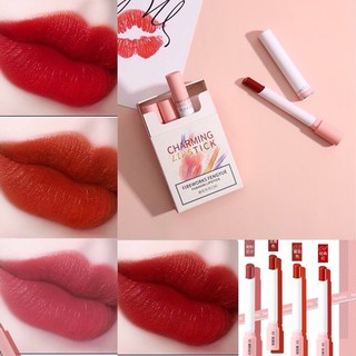 Set son hình bao thuốc Bamila Charming Lipstick (4 son) thumbnail
