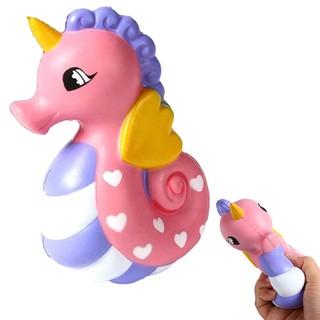 Cute Jumbo Kawaii Soft Seahorse Squishy Squshi Toy
