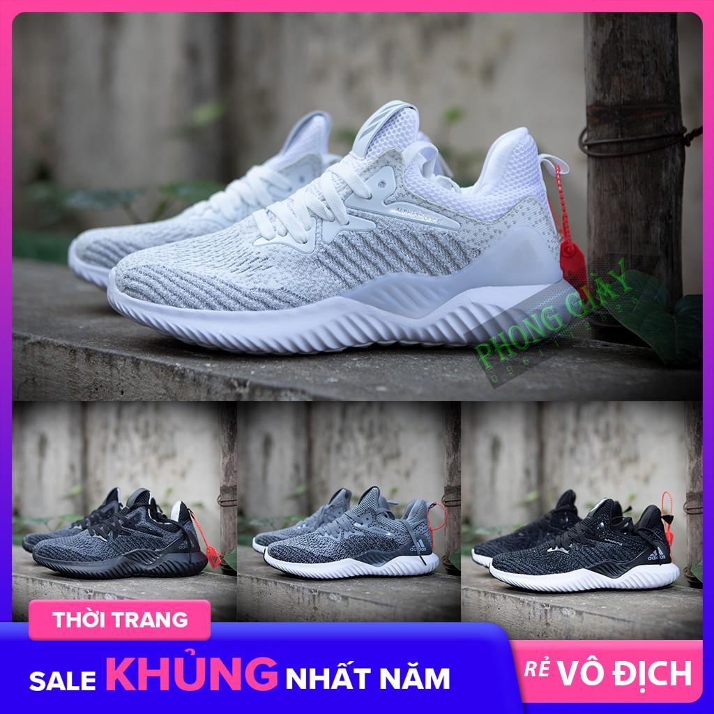 Giày sneaker nam giày thể thao nam Alphabounce Beyond Alphabounce muối tiêu (04 màu) fullbox