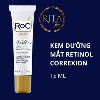 [BILL MỸ] Kem mắt Roc giảm quầng thâm và nếp nhăn hiệu quả Retinol Correxion Eye Cream