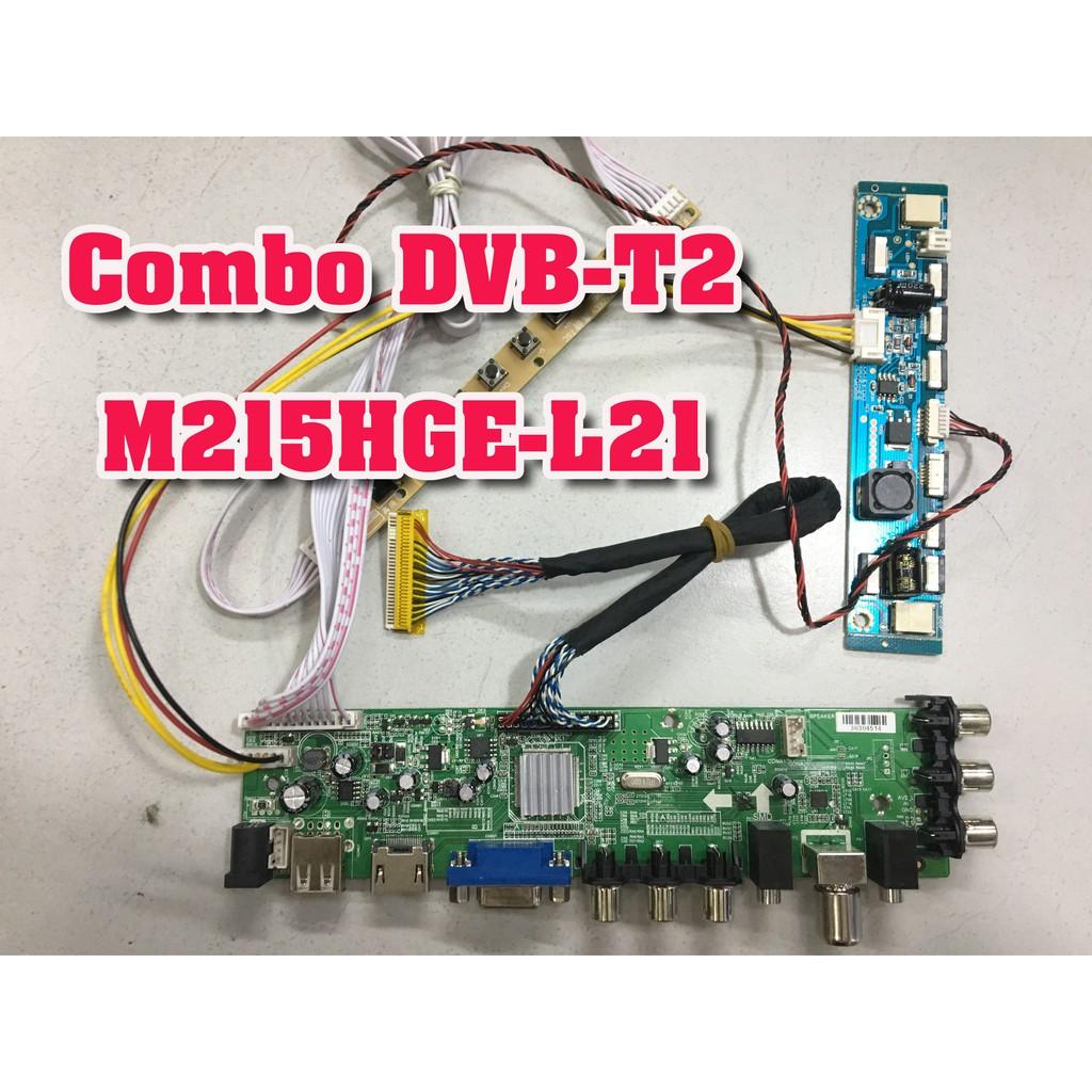 Combo bo Tivi DVB-T2 cho màn hình M215HGE-L21