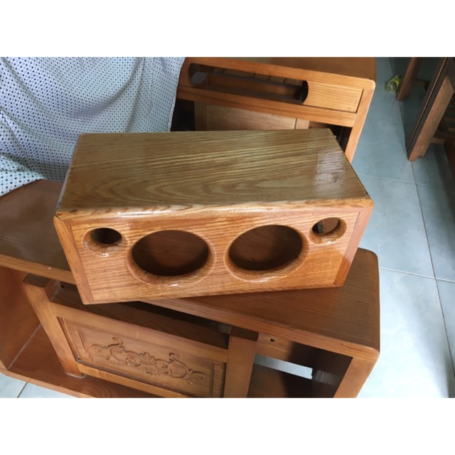 Hộp loa gỗ sồi cho loa samsung
