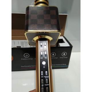 GIÁ SIÊU RẺ MICRO karaoke mic bluetooth Không Dây SD-08 Kèm Loa , MICRO Chính Hãng SDRD.. thumbnail