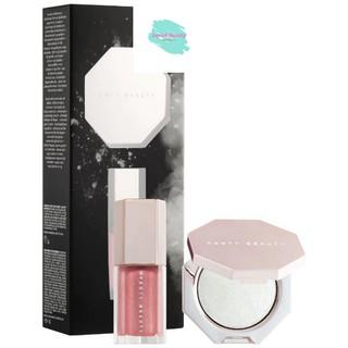 [Mã giảm giá mỹ phẩm chính hãng] Set Highlight + Son Bóng Fenty Beauty Diamond Bomb thumbnail