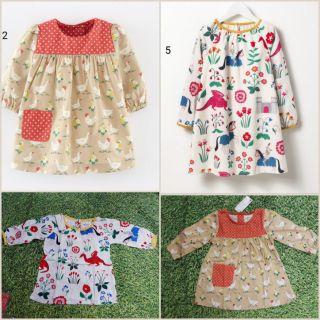 xả lỗ lẻ size: Váy Little Maven dài tay cho bé 2-7 tuổi( 10-25kg), thanh lý lẻ size