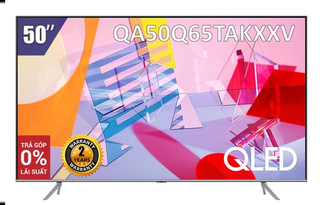 [Giao hàng tại TP.HCM] Smart Tivi Samsung 50 inch QLED 4K QA50Q65TAKXXV