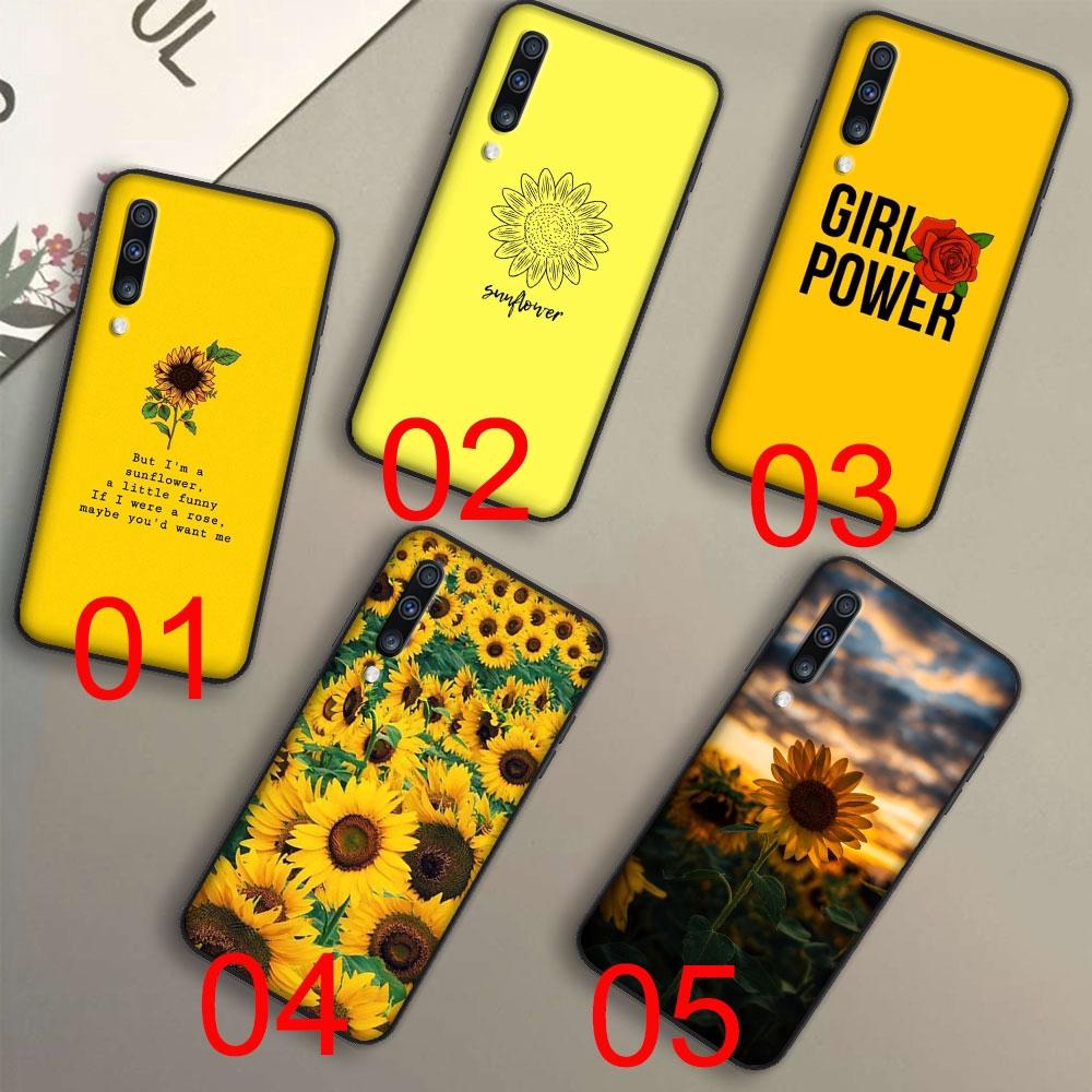 Ốp điện thoại silicon dẻo họa tiết hoa hướng dương độc đáo ...