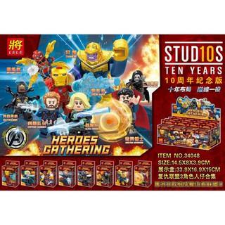 >__Bộ Đồ Chơi Nhân Vật Lego Super Hero 34048
