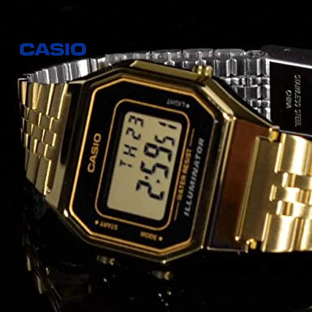 Đồng hồ nữ CASIO LA680WGA-1DF chính hãng - Bảo hành 1 năm, Thay pin miễn phí