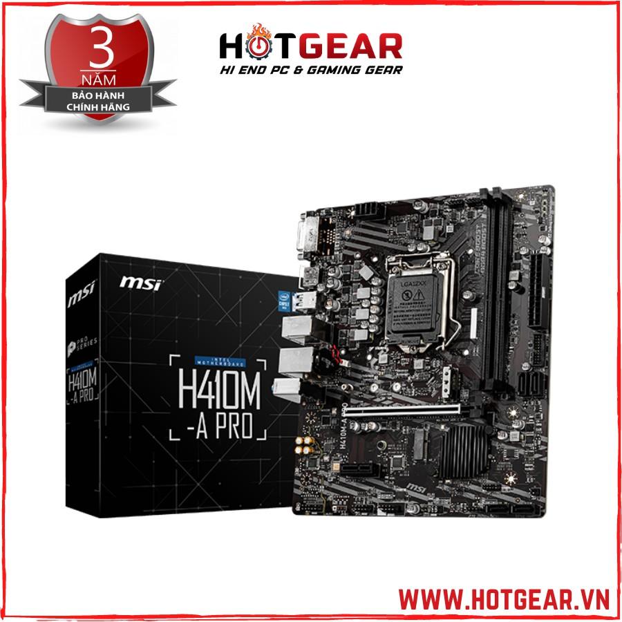 MAINBOARD MSI H410M - A PRO chính hãng mới 100%