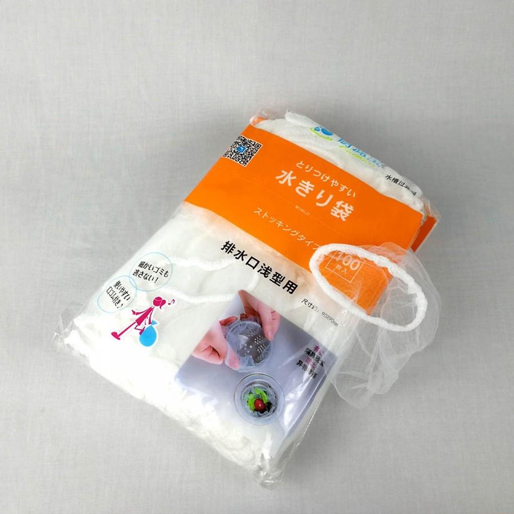 Tui Lọc Rác Bồn Rửa Chén Siêu Tiện Dụng - Hộp 100 Túi 9 x 9 cm Bao bì, túi đựng