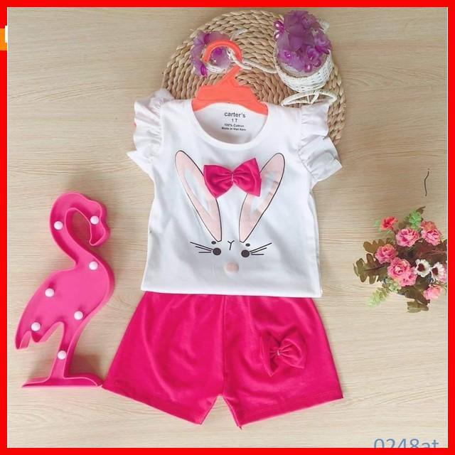 [ Big Sale ] quần áo trẻ em mẫu bộ hè cho bé gái