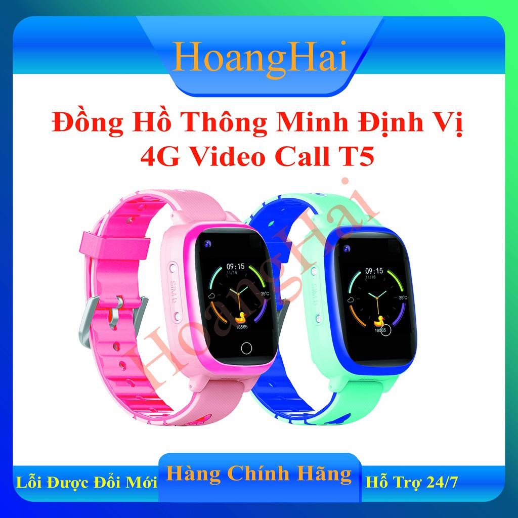 Đồng hồ thông minh định vị trẻ em GT5 độ chính xác cao- Gọi Video Call, Định  vị GPS, Wifi, Chống nước