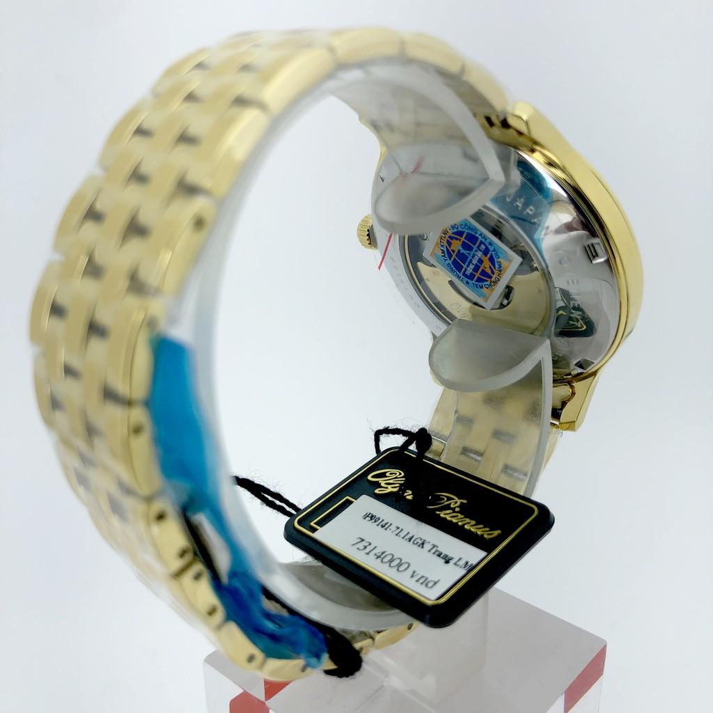 Đồng hồ nam OLYM PIANUS chính hãng OP99141-71.1AGK, dây kim loại