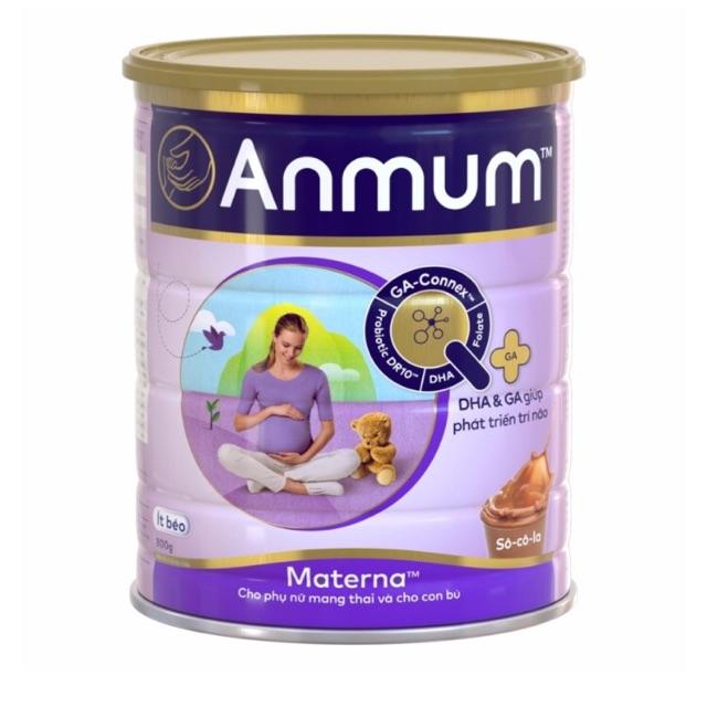 Sữa bột Anmum Materna Vani 400g tháng 1.2021