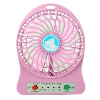Quạt sạc tích điện 3 tốc độ cho bé