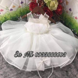 Đầm công chúa mẫu công nương siêu phồng xòe cho bé ( Tặng cài )